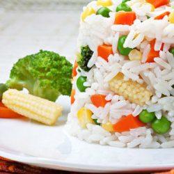 zeleninova ryža